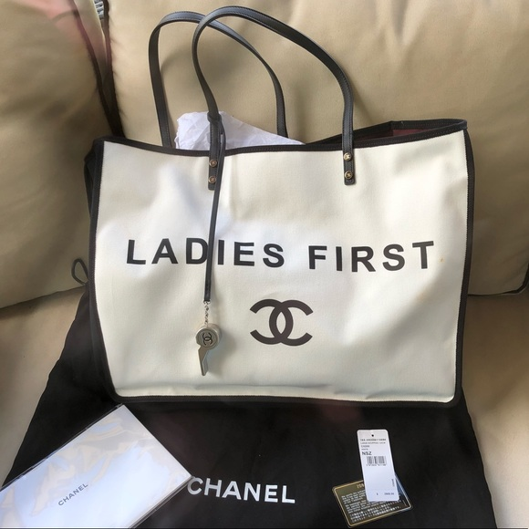 fd4a7c690d0c CHANEL Handbags - 💯% AUTHENTIC CHANEL LADIES FIRST TOTE